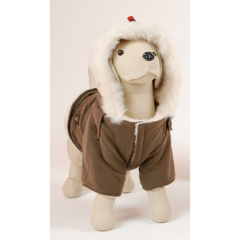 Petego Dog Rich Siberian Coat Size X Small Brown