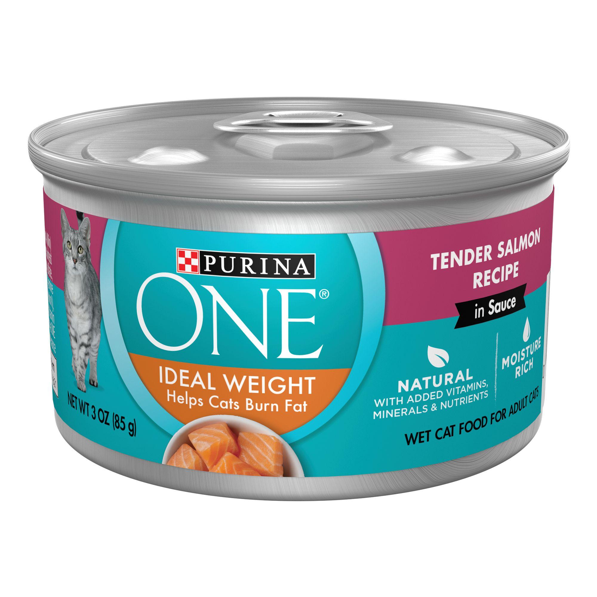 Purinareg Onereg Smartblend Healthy Metabolism Adult Cat Food Size 3 Oz