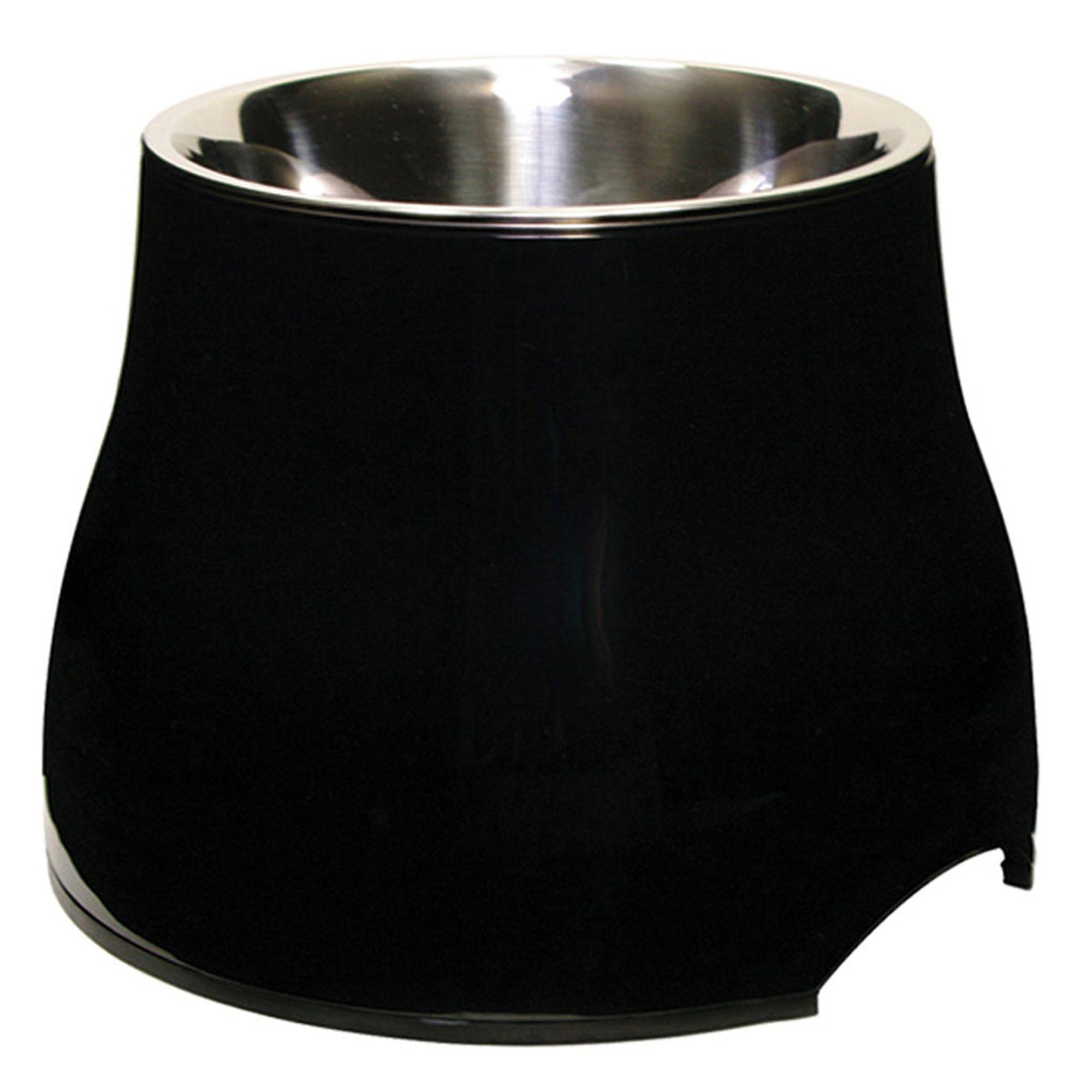 Dogit Elevated Dog Bowl Size 10.1 Fl Oz Black