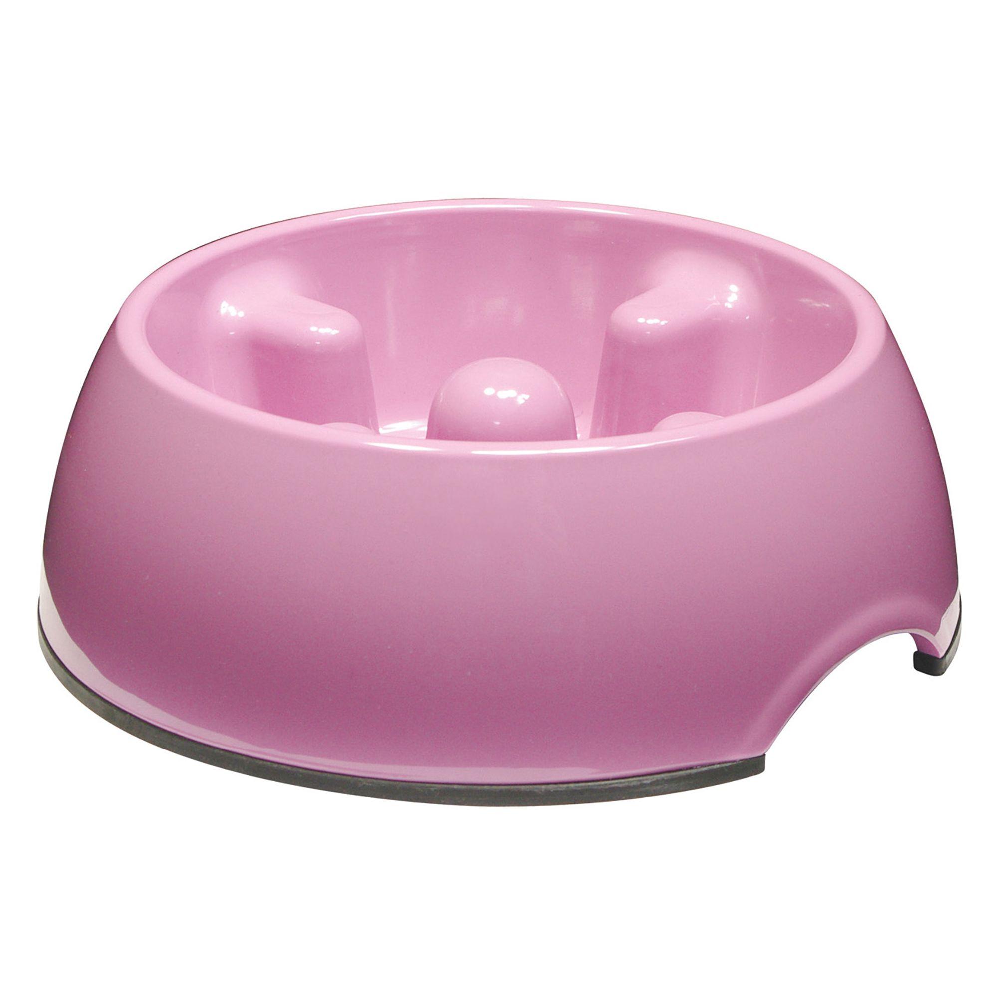 Dogit Go Slow Dog Bowl Size 10.1 Fl Oz Pink