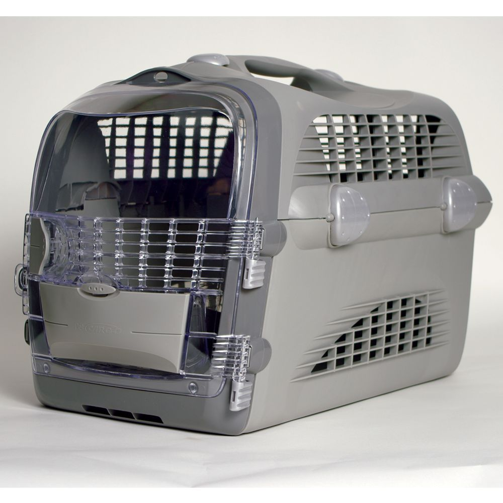 Catit Cabrio Multi Function Cat Carrier Size 20l X 13w X 13.75h Gray