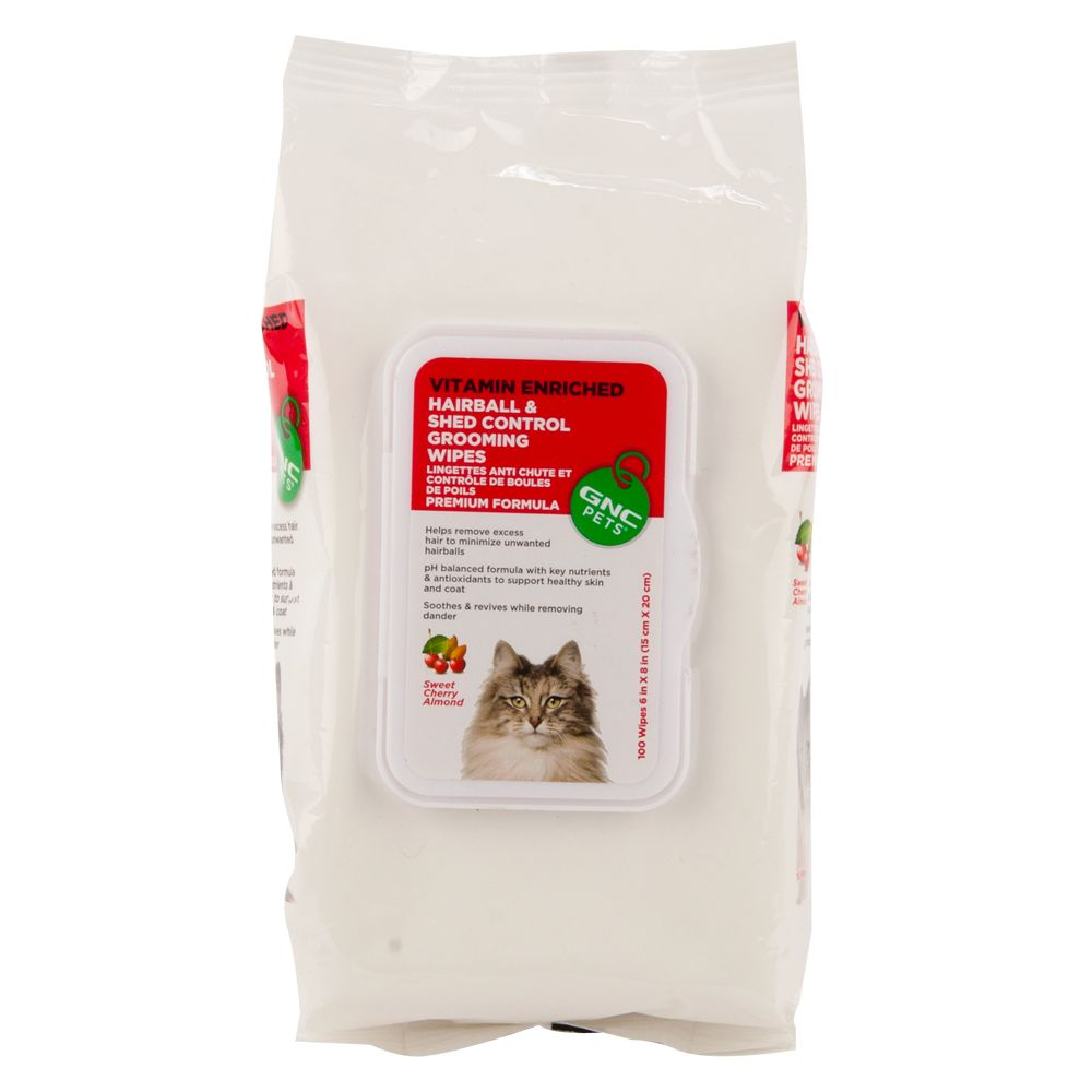Gnc Pets Hairball And Shed Control Cat Wipes