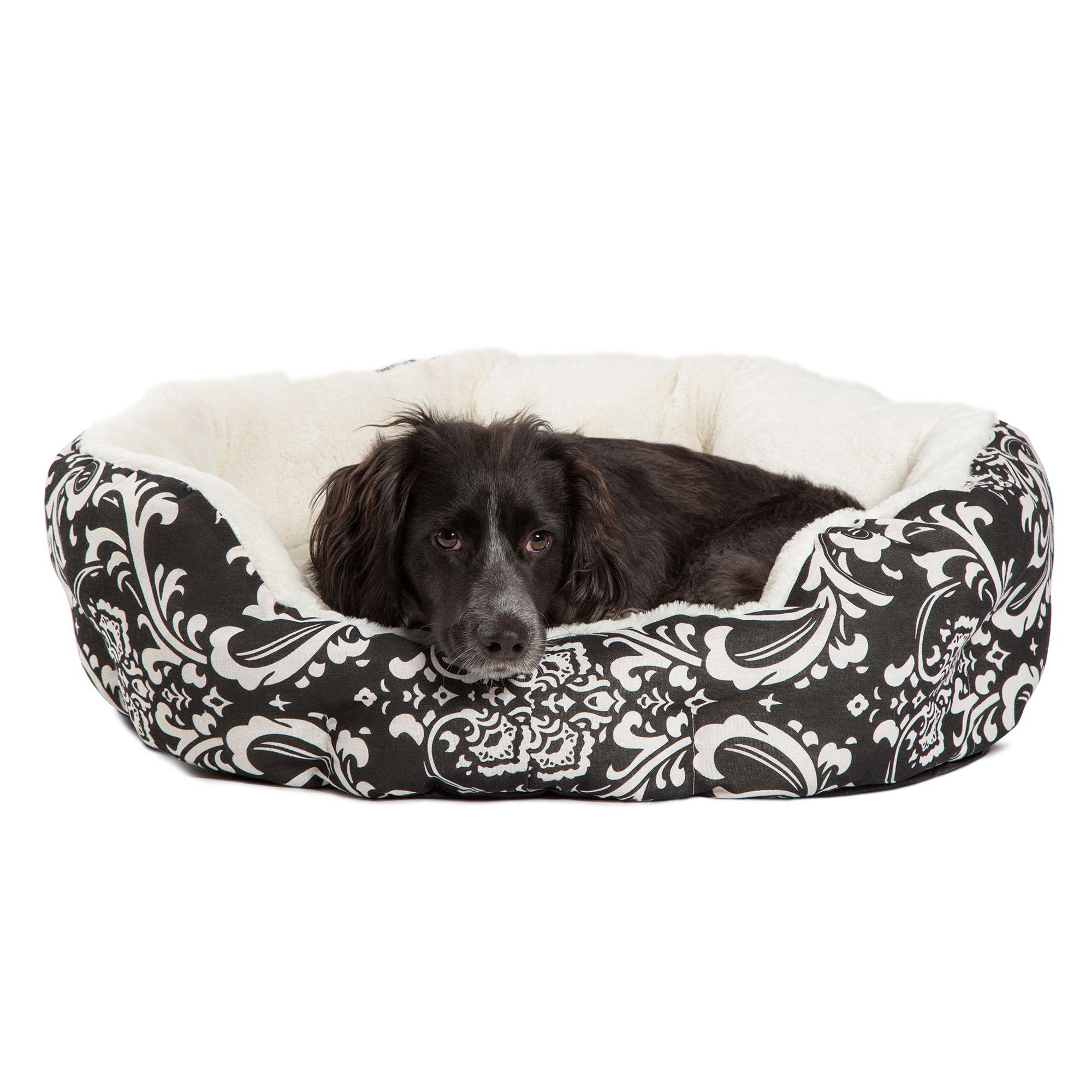 Best Friends By Sheri Cuddler Pet Bed Size 16l X 16w X 6h Black
