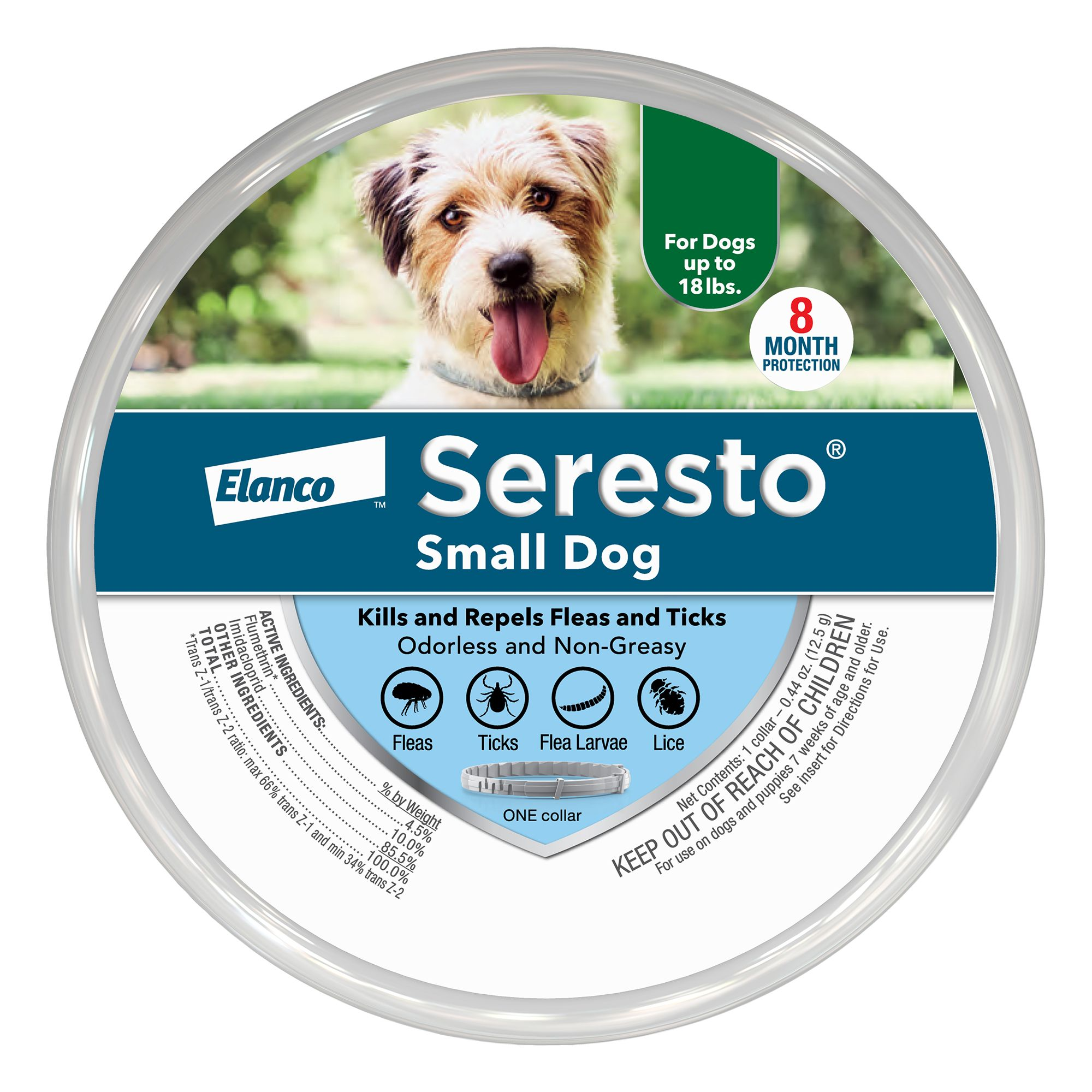 Seresto Flea and Tick Dog Collar size: Small
