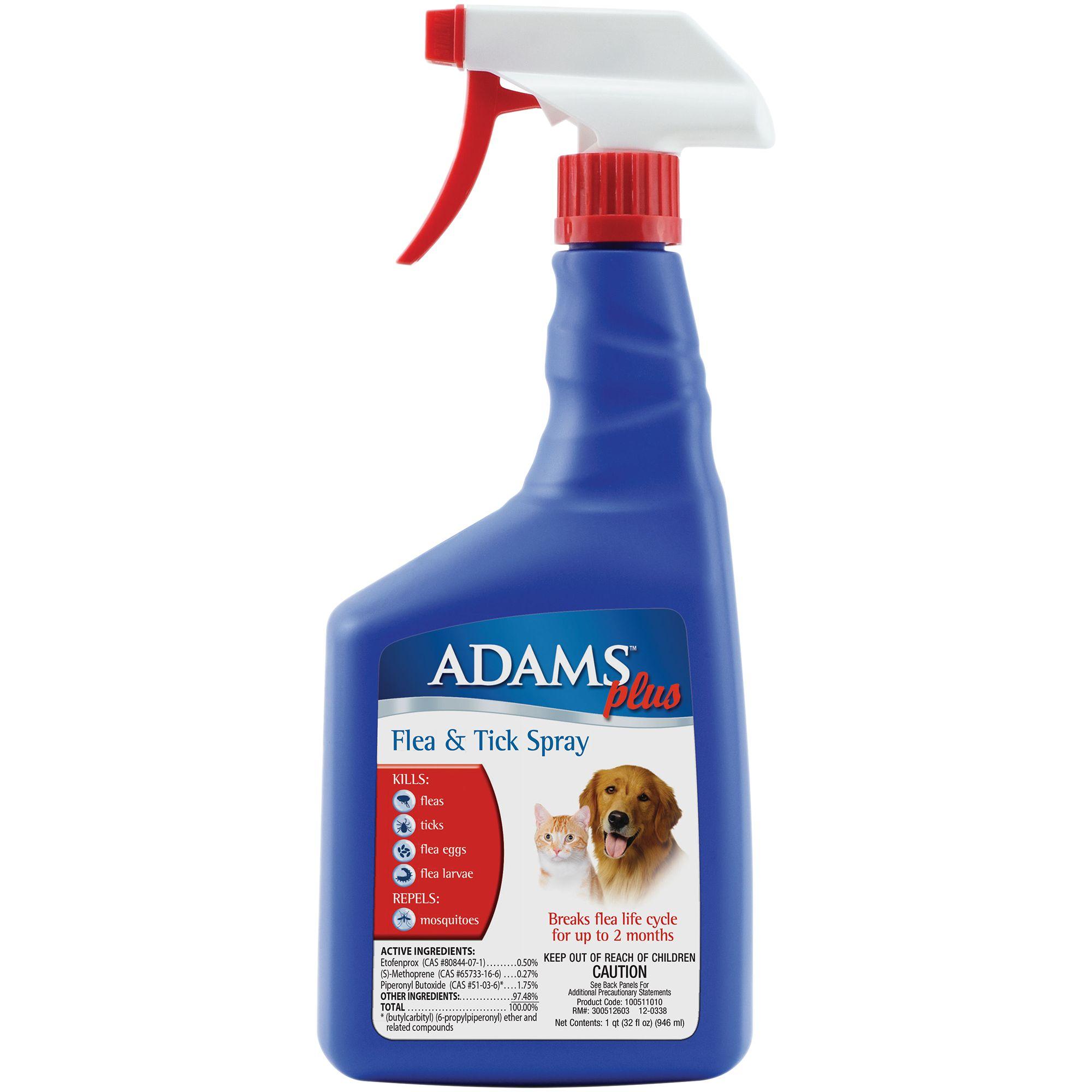 Adams Plus Flea And Tick Spray Size 32 Fl Oz