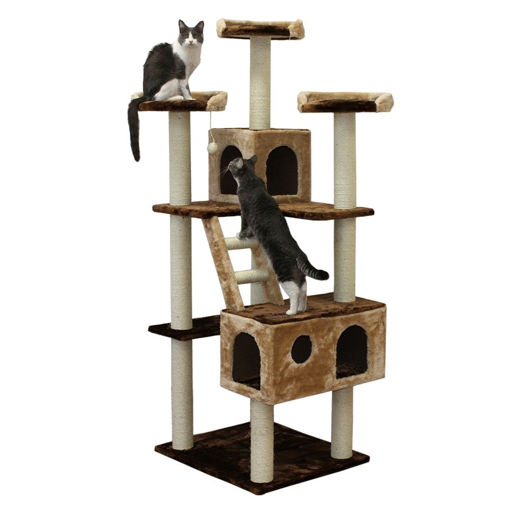 Kitty Mansions Beverly Hills Cat Tree