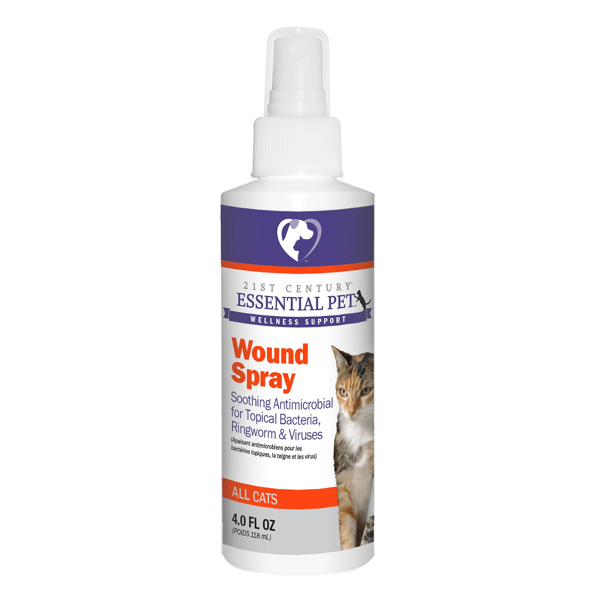 21st Century Antimicrobial Cat Wound Spray