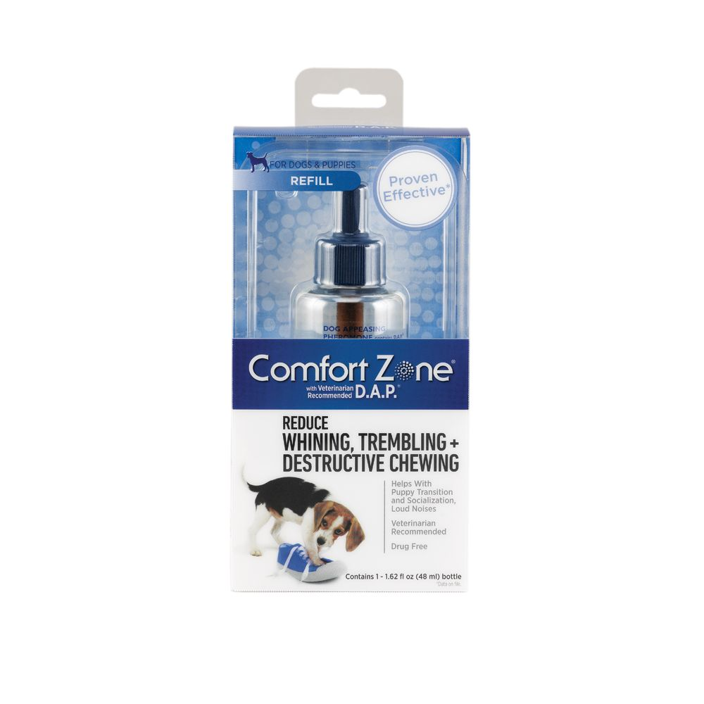 Comfort Zone Whining Trembling And Destructive Chewing Dog Spray Refill Size 1.62 Fl Oz