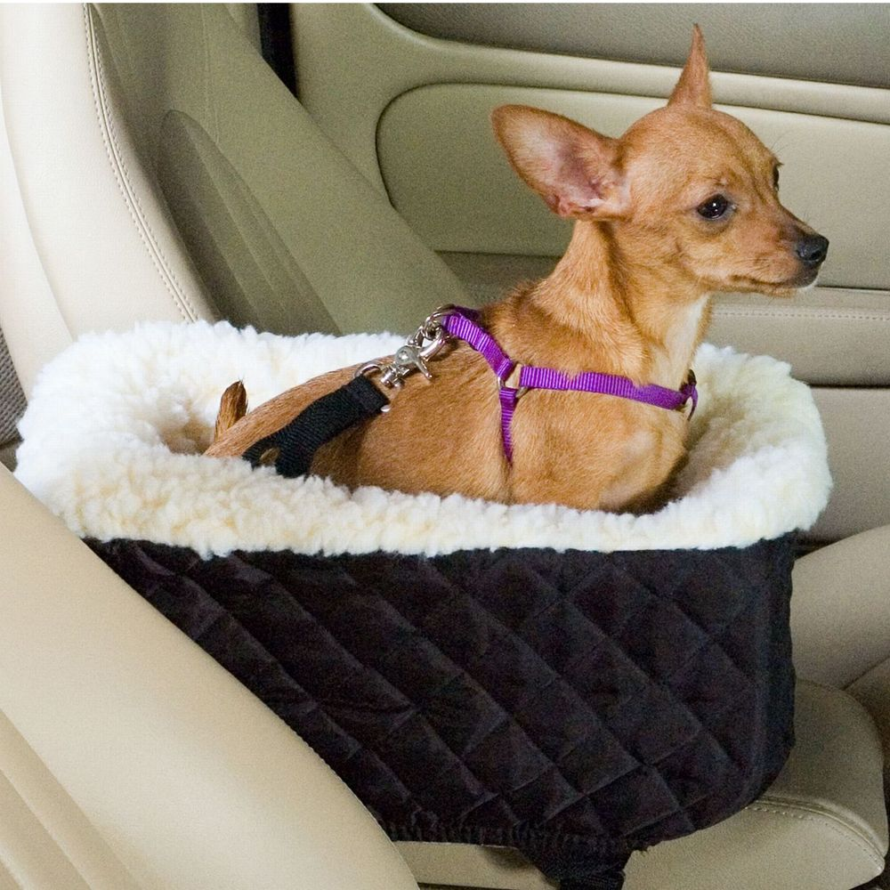 Snoozer Console Lookout Dog Car Seat Size 15l X 8.5w X 6h Black