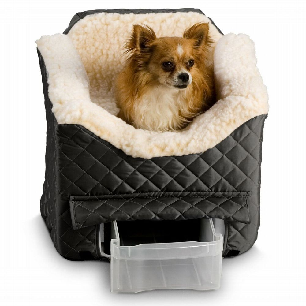 "Snoozer Lookout II Pet Car Seat size: 19""L x 22""W x 17""H, Black"