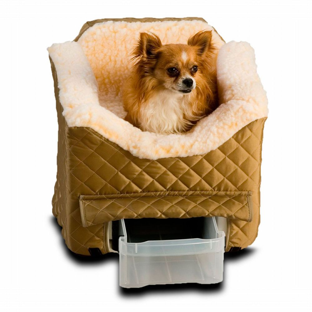 "Snoozer Lookout II Pet Car Seat size: 19""L x 22""W x 17""H, Green, 80012"