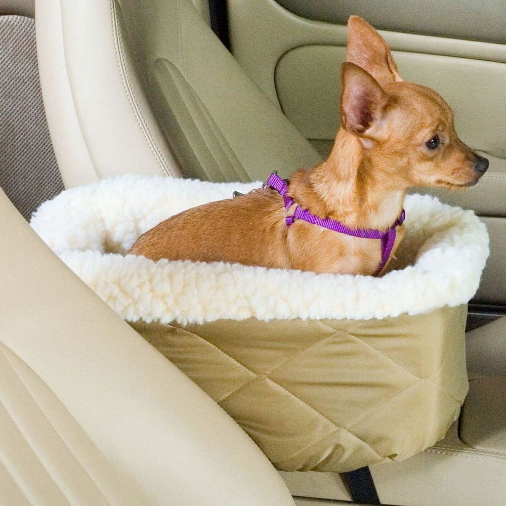 Snoozer Console Lookout Dog Car Seat Size 15l X 8.5w X 6h Green