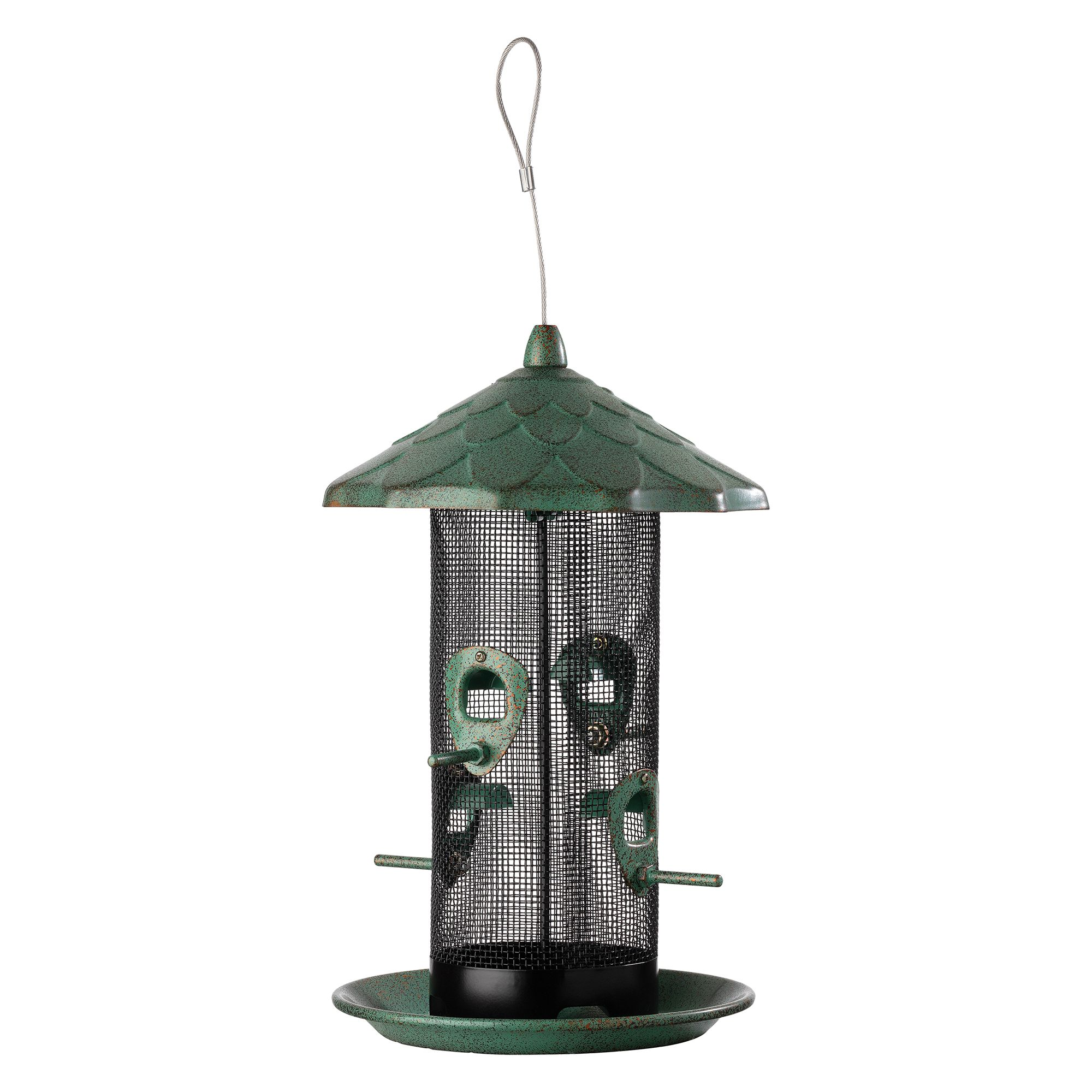 Stokes Select Acorn Screen Bird Feeder Green