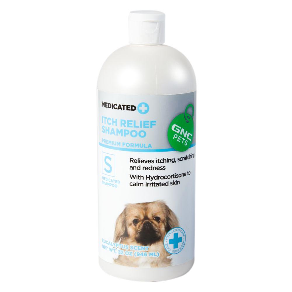 Gnc Pets Itch Relief Medicated Dog Shampoo Size 32 Fl Oz