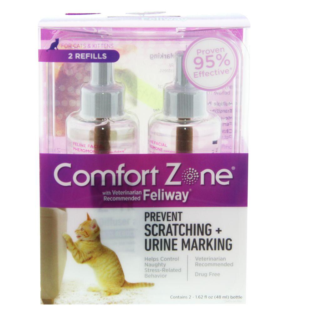 Comfort Zone Feliway Cat Diffuser Refill Size 2 Count