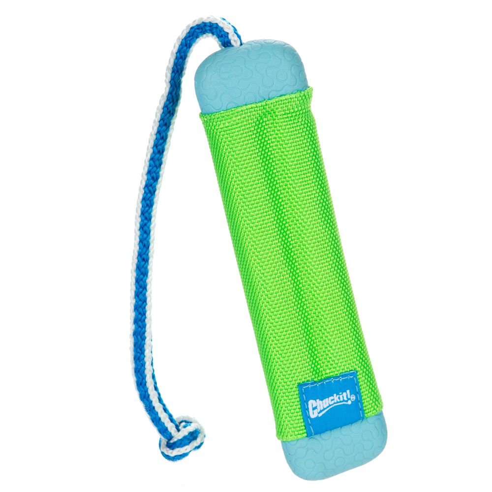 Chuckit Amphibious Bumper Dog Toy Size Small Orange Blue