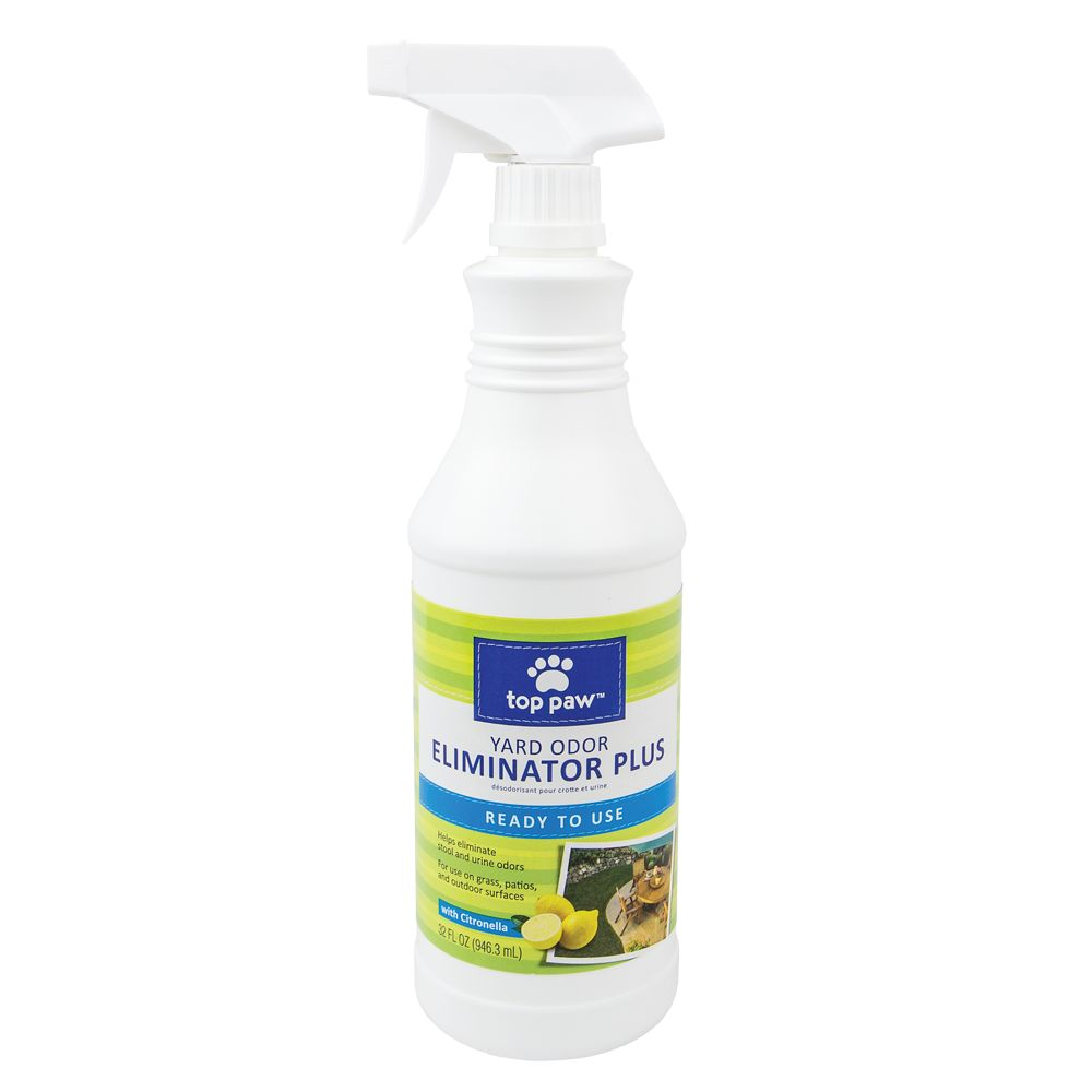 Top Paw Ready to Use Citronella Yard Pet Odor Eliminator Plus size: 32 Fl Oz 5195116