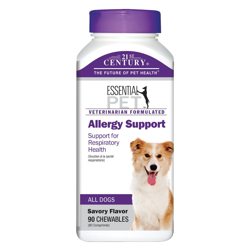 21st Century Essential Pet Dog Allergy Support Size 90 Count