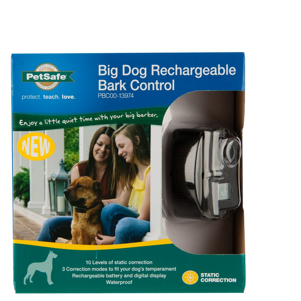PetSafe Big Dog Rechargeable Bark Control Dog Collar 5195456