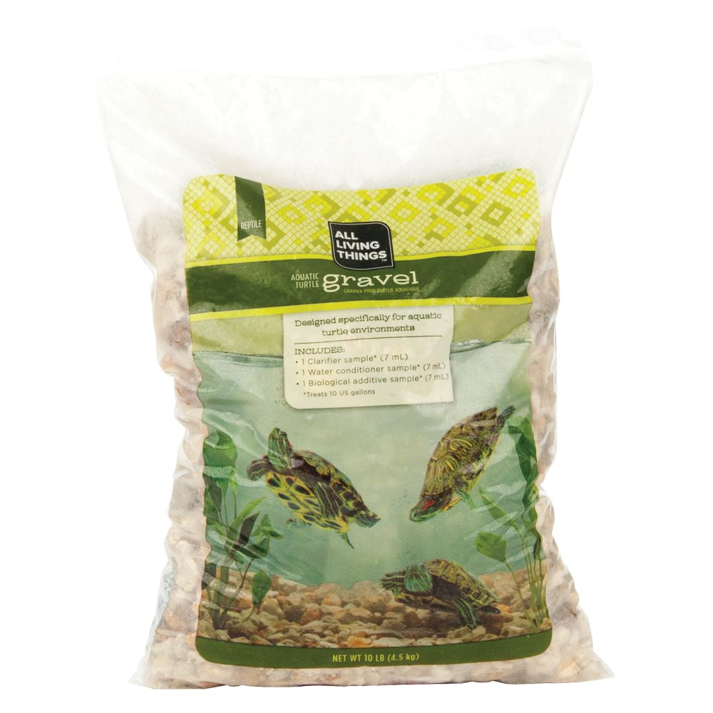 All Living Things Aquatic Turtle Gravel Multi Color