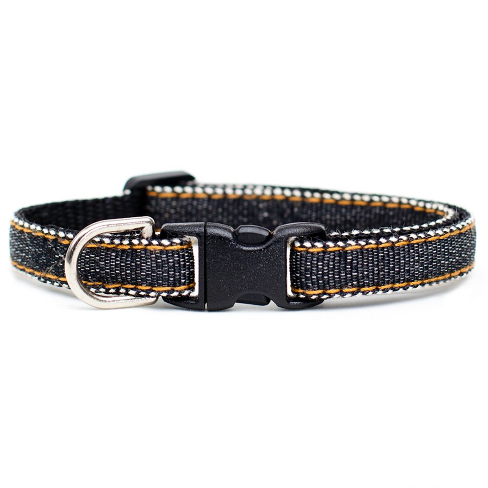 Sweet Pickles The Hipster Breakaway Cat Collar Size 7l X 0.375w Black