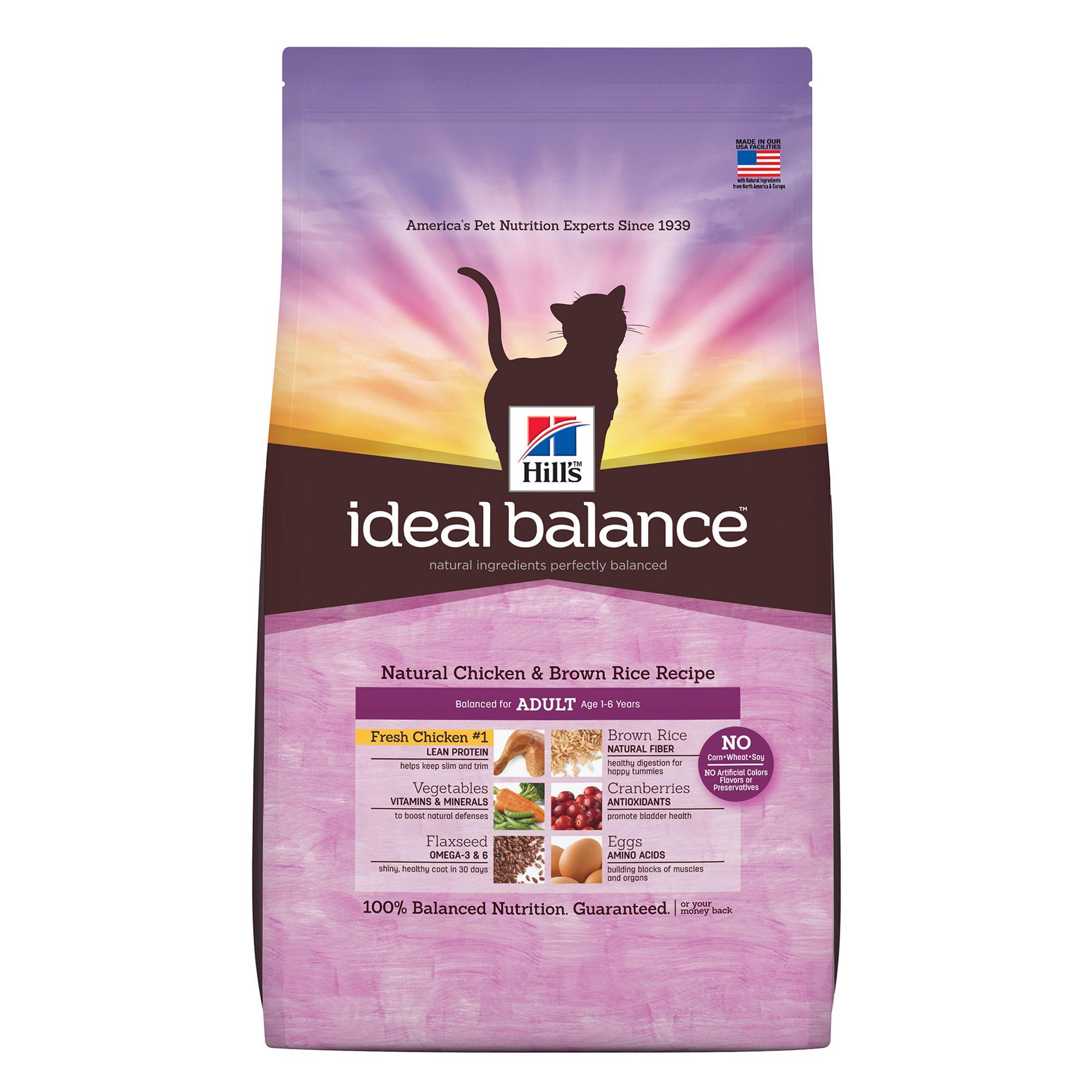 Ideal Balance Cat Food Petsmart