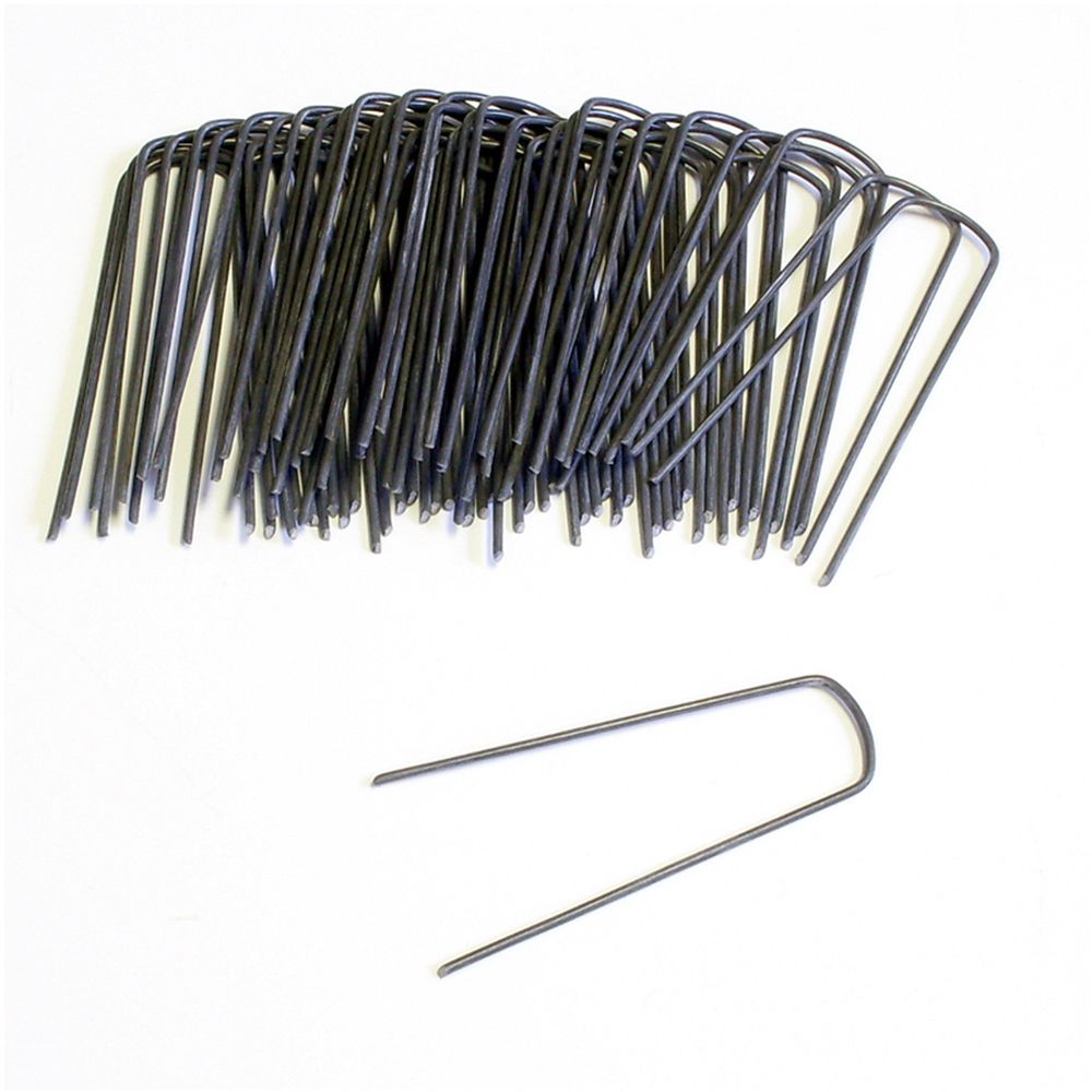 High Tech Pet Fence Yard Staples Size 50 Count