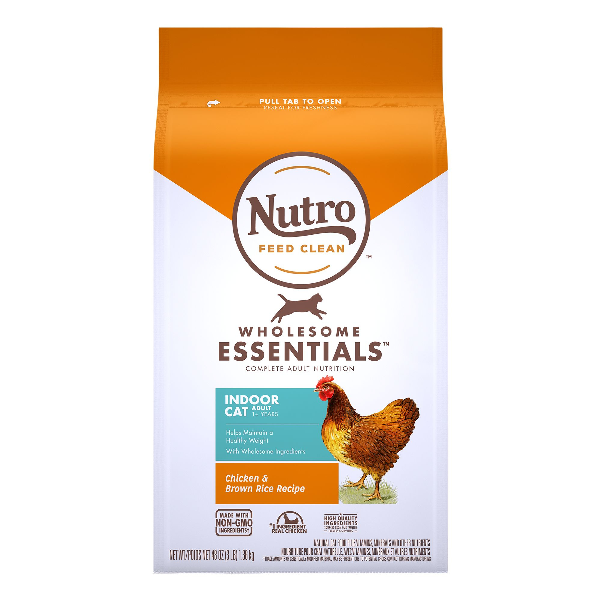 Nutro Natural Choice Indoor Adult Cat Food size: 3 Lb 5197295