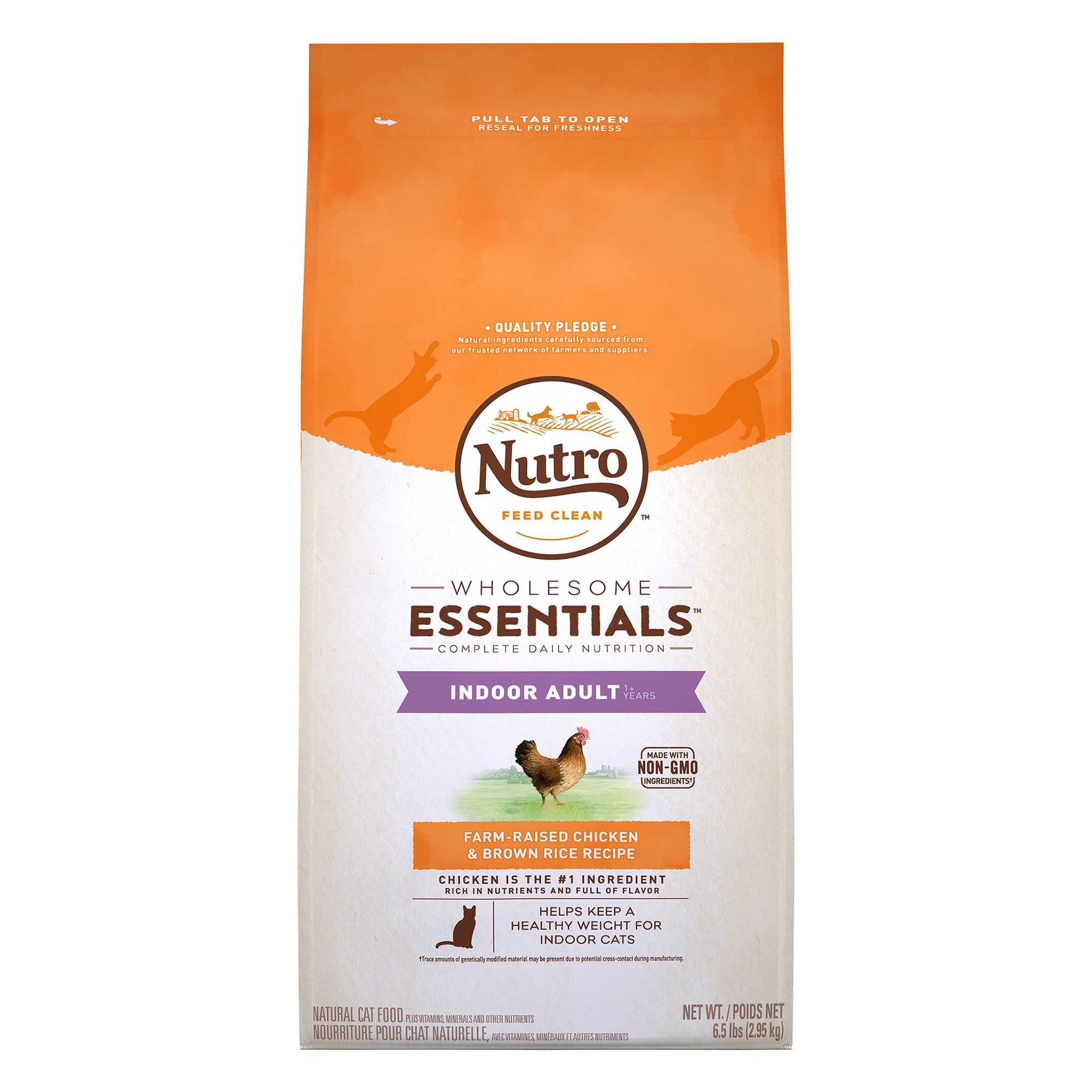 Nutro Natural Choice Indoor Adult Cat Food size: 6.5 Lb 5197351