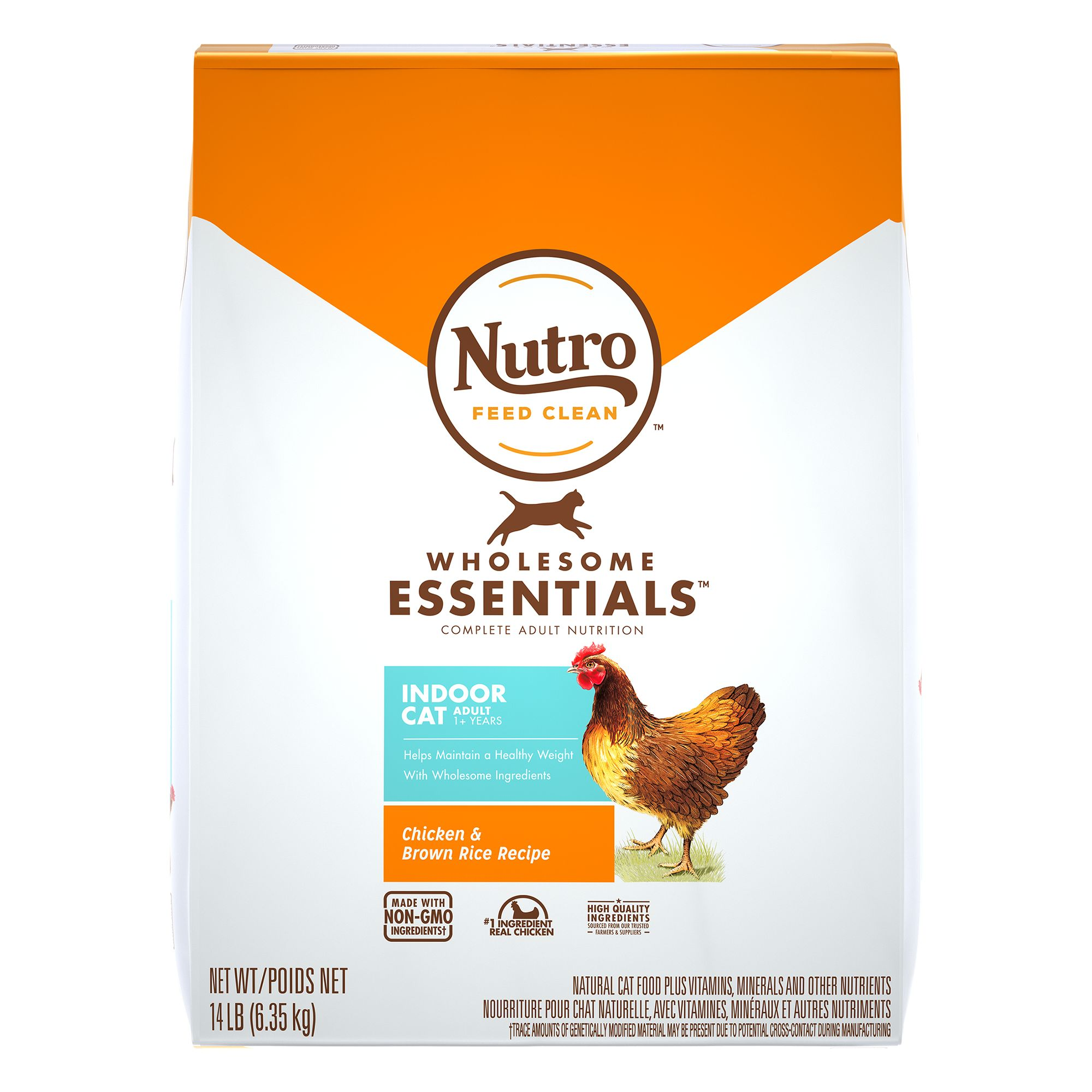 Nutro Natural Choice Indoor Adult Cat Food size: 14 Lb 5197367