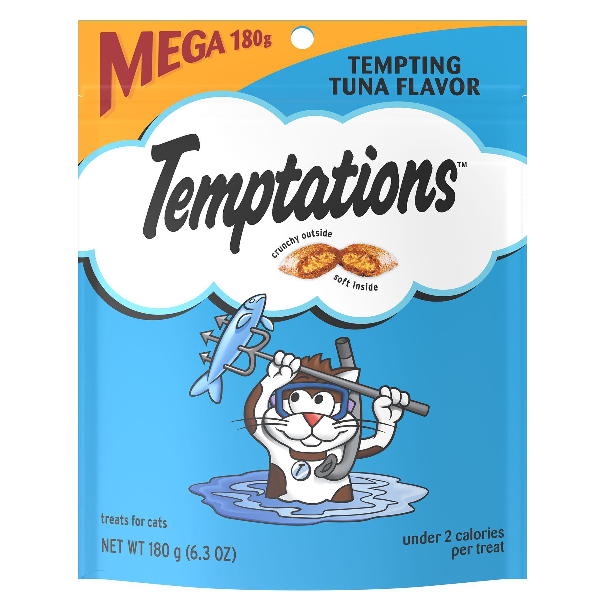 Temptations Cat Treats Size 6.3 Oz