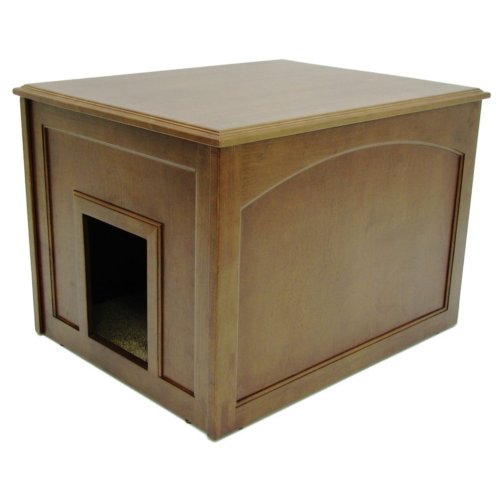 Crown Pet Cat Litter Cabinet Size 26.75l X 21.25w X 19h Brown
