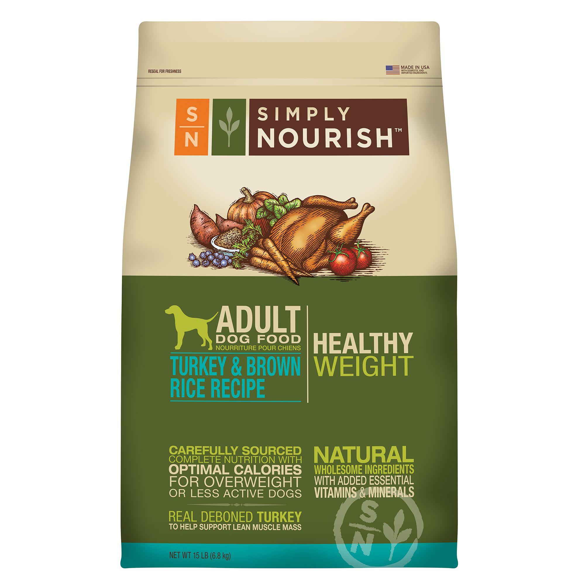 Who Makes Simply Nourish Dog Food