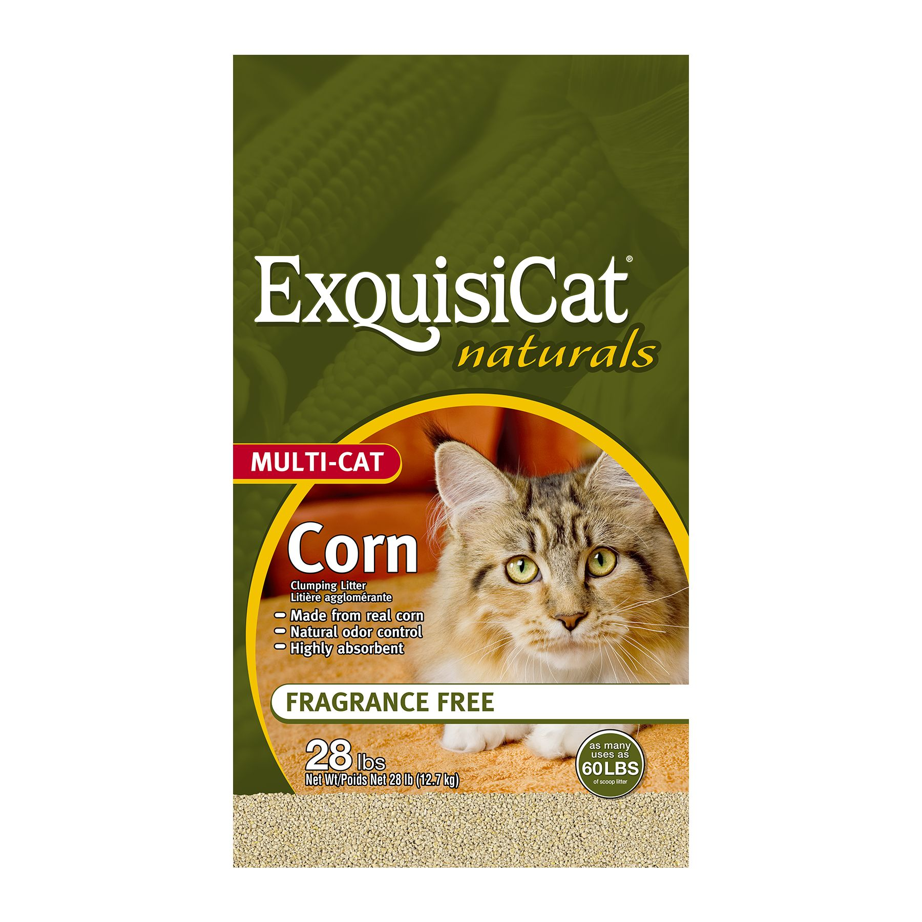 Exquisicat Cat Litter Size 28 Lb