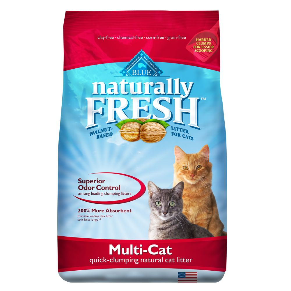 Blue Naturally Fresh® Multi-Cat Clumping Natural Cat Lit