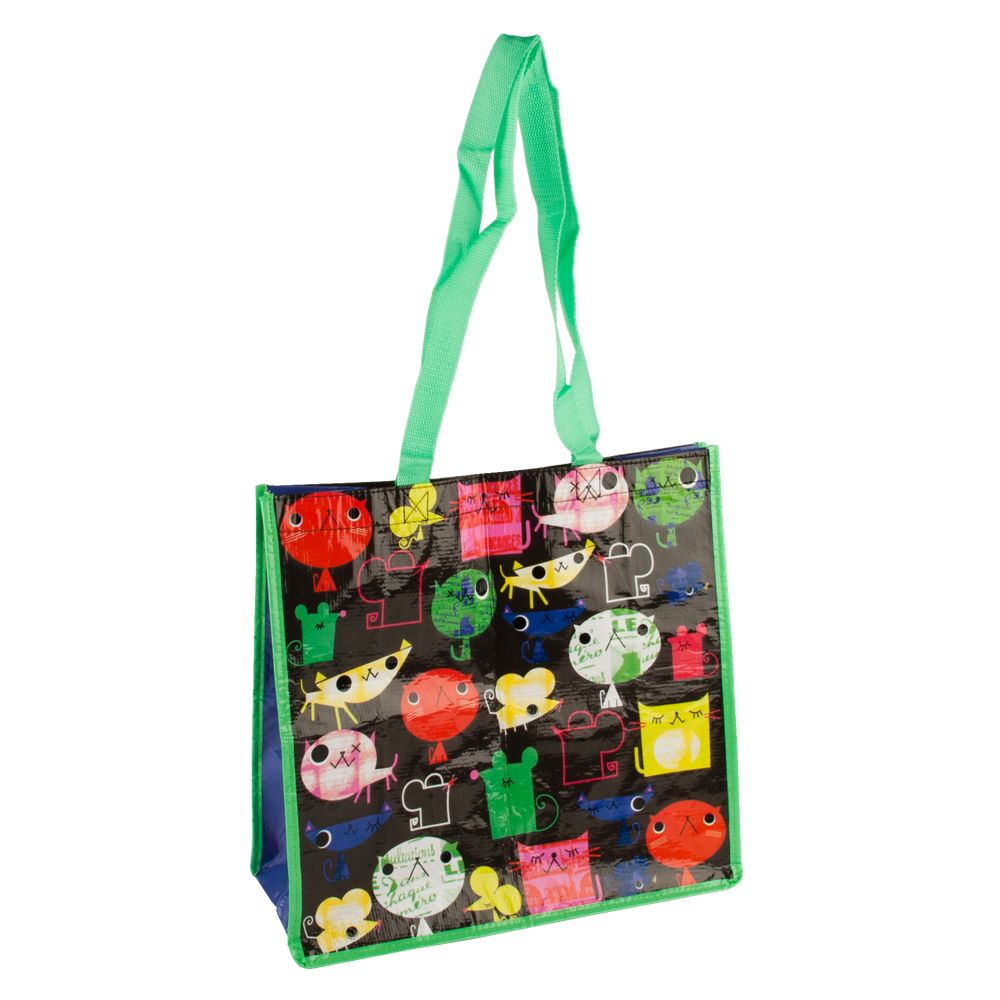 Petsmart Cat And Mouse Recycled Pet Bag Multi Color