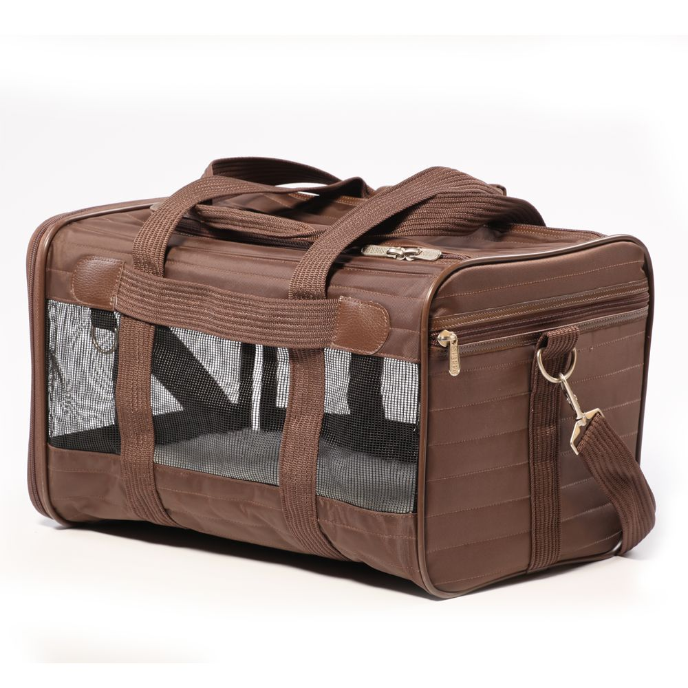 Sherpa Original Deluxe Pet Carrier Size 19l X 11.75w X 11.5h Brown