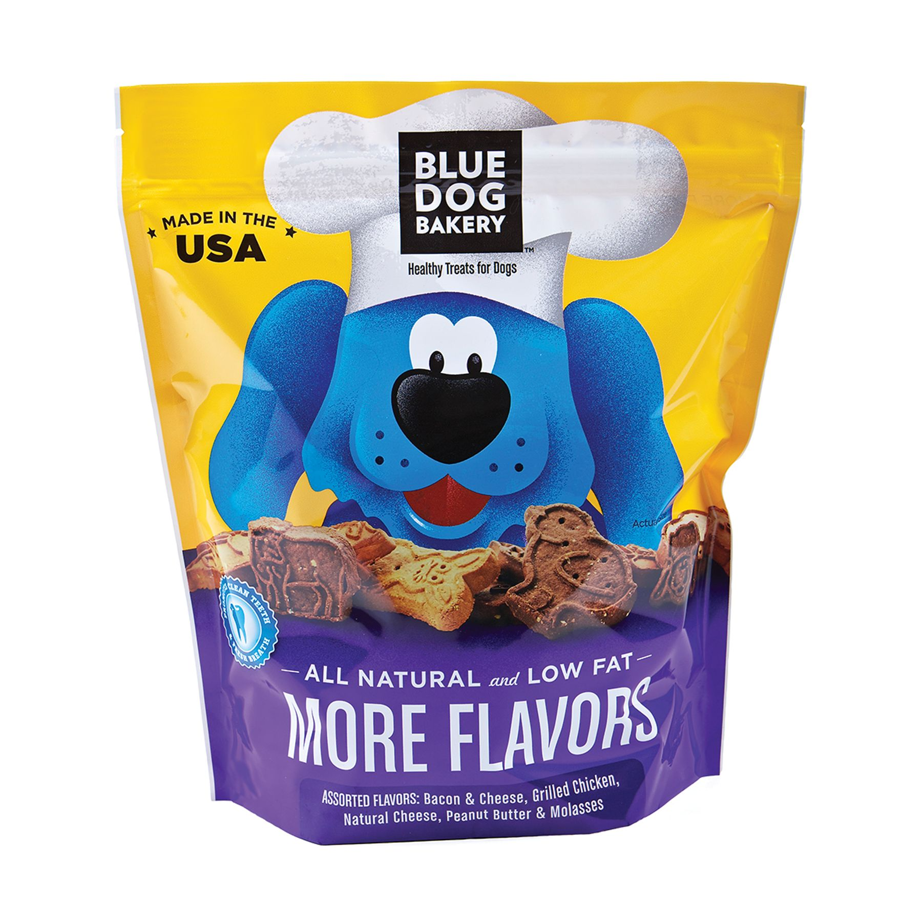Blue Dog Bakery More Flavors Dog Treat Size 2.5 Lb
