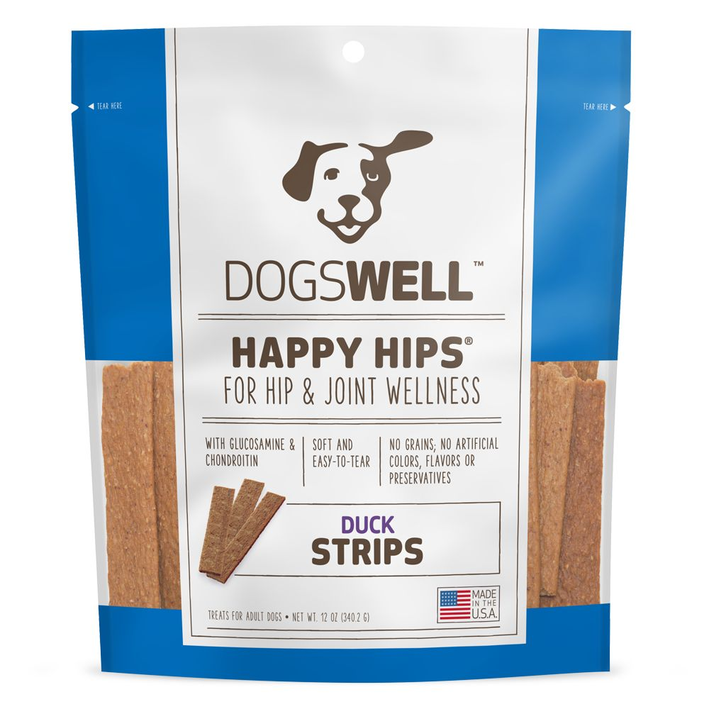 Dogswell Happy Hips Dog Treat Grain Free Hip And Joint Health Size 12 Oz