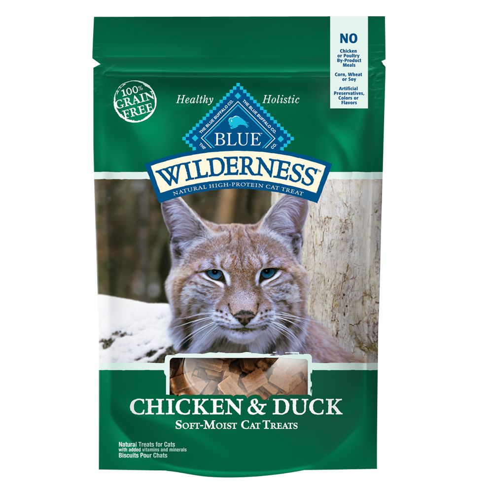 Blue Wilderness® Grain Free Soft Moist Cat Treat size: 2