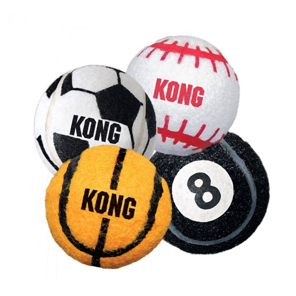 Kong Sports Ball Dog Toy size: X Small, Multi-Color 5201892