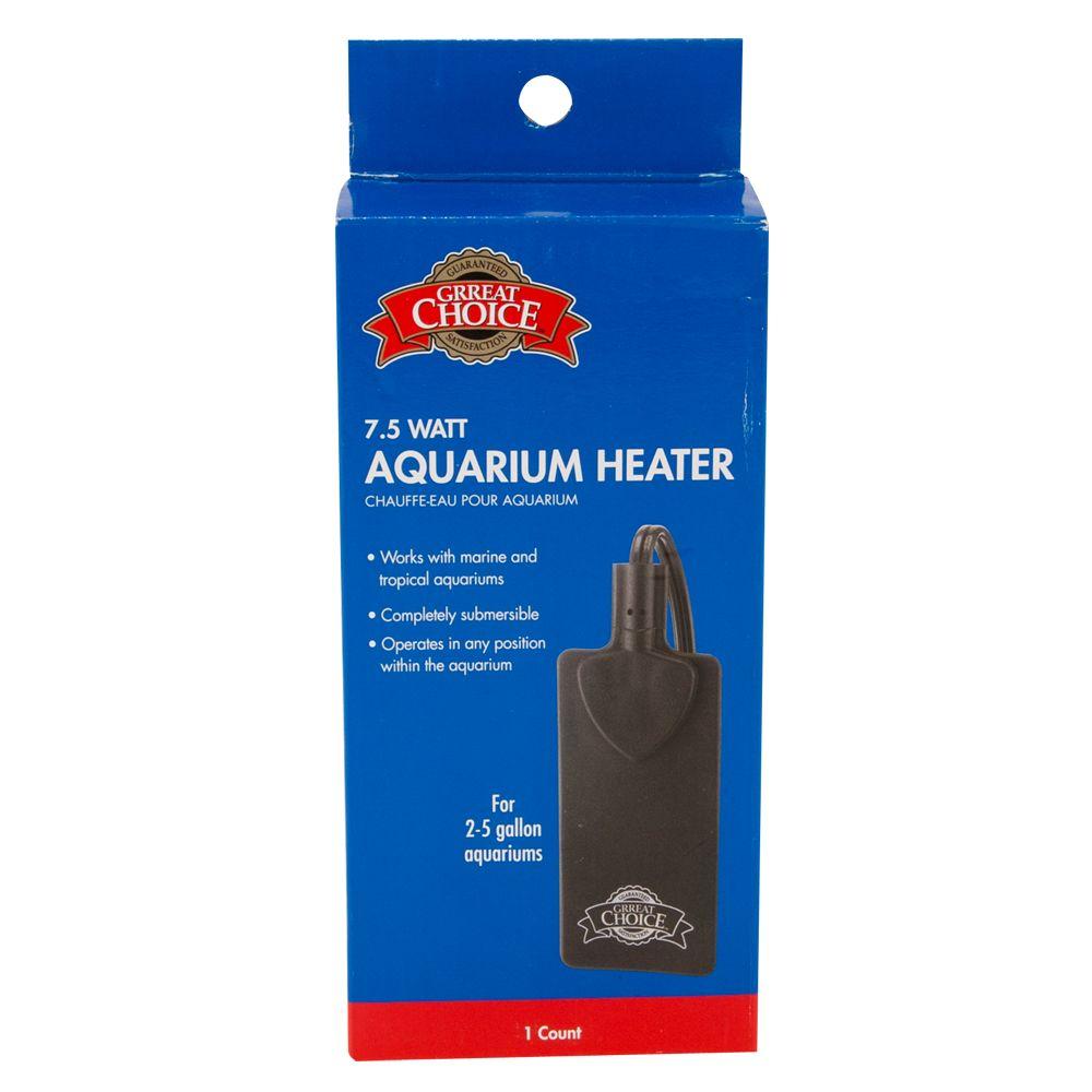 Grreat Choice Mini Aquarium Heater Size 7.5w