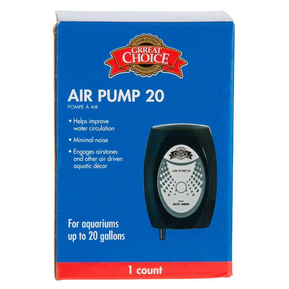 Grreat Choice Air Pump Size 20 Gal