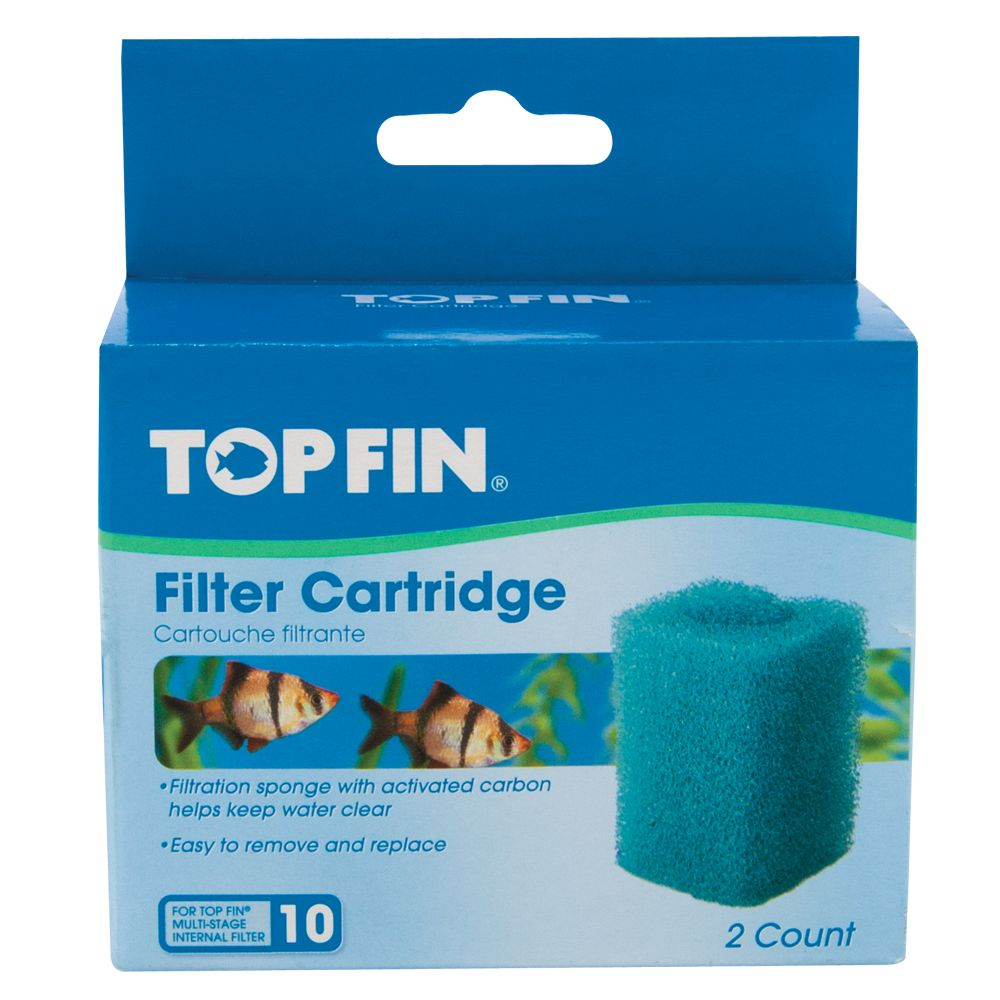 Top fin filter cartridge for Petsmart fish filters