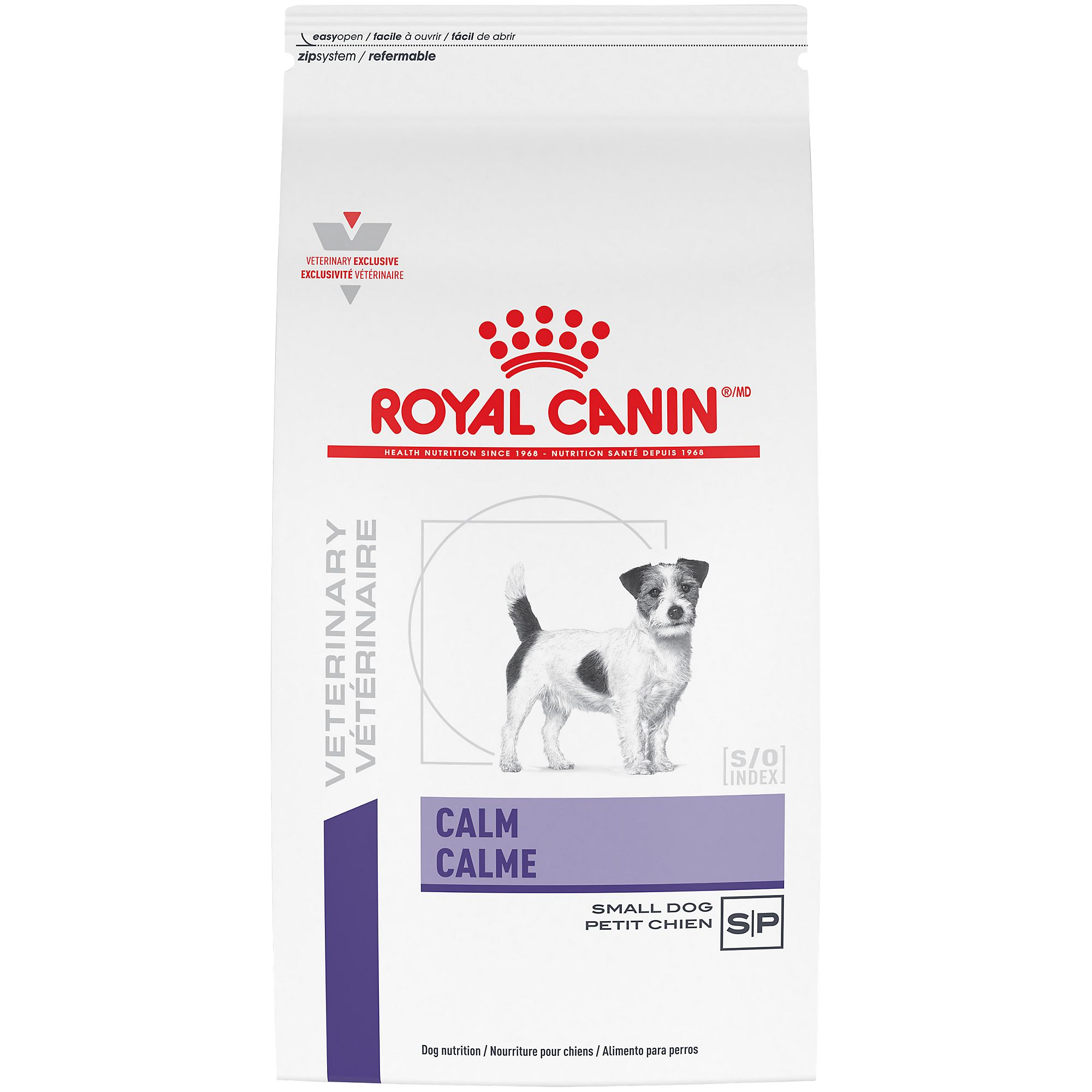 Royal Canin Calm Dog Food size: 8.8 Lb, Chicken, Kibble, Adult dogs 1 year and older, Brewer's Rice 5206383