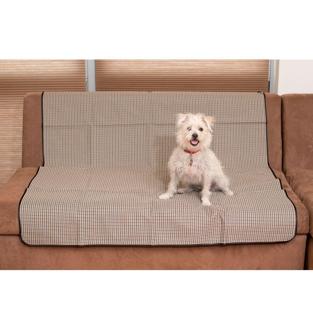 Carolina Pet Luxurious Anti-Skid Pet Blanket, Plaid