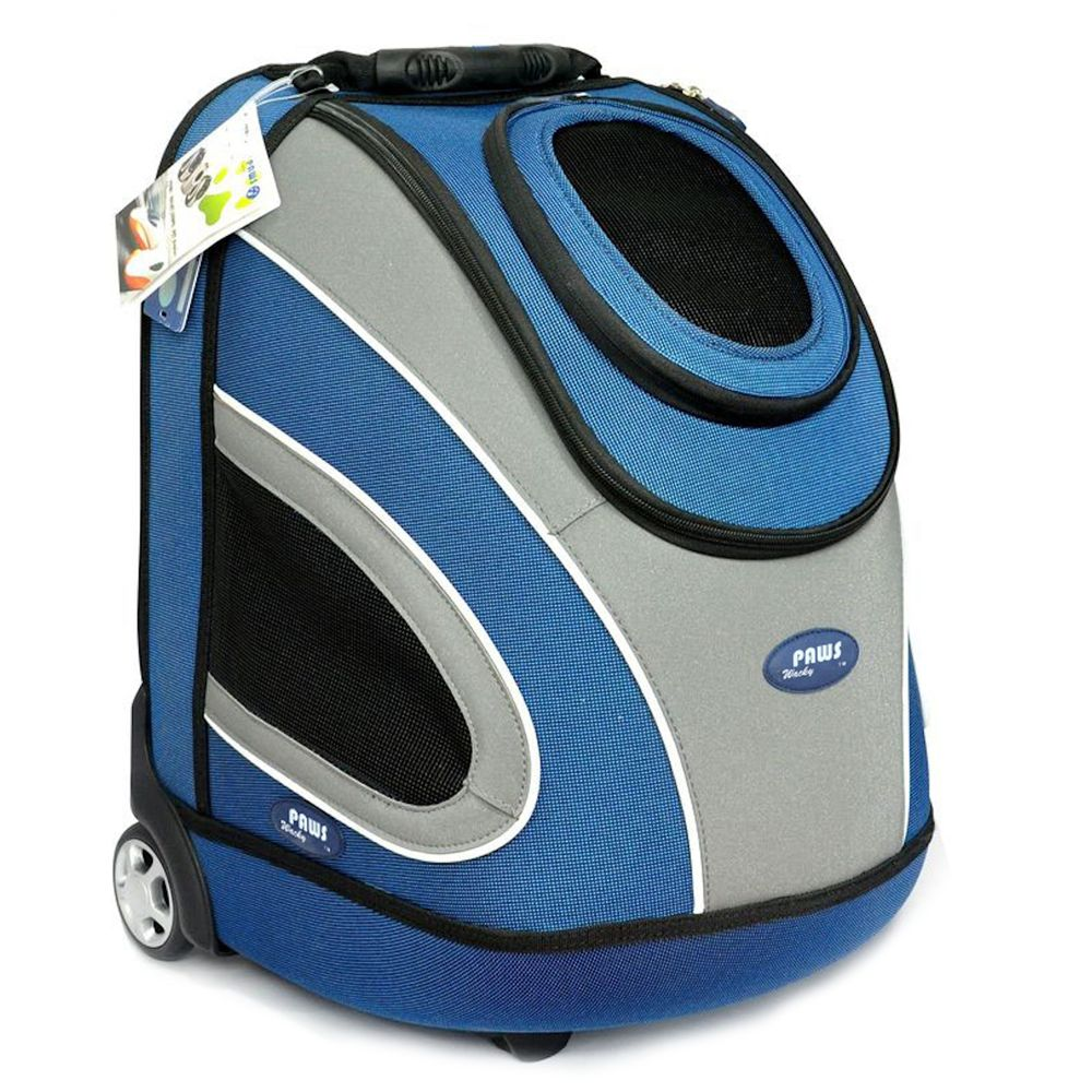 Wacky Paws Luxury Pet Stroller Size Large Blue