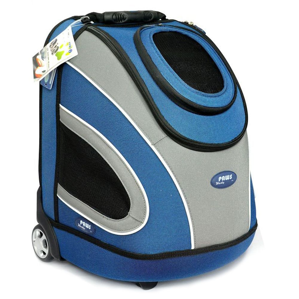 Wacky Paws Luxury Pet Stroller Size Small Blue
