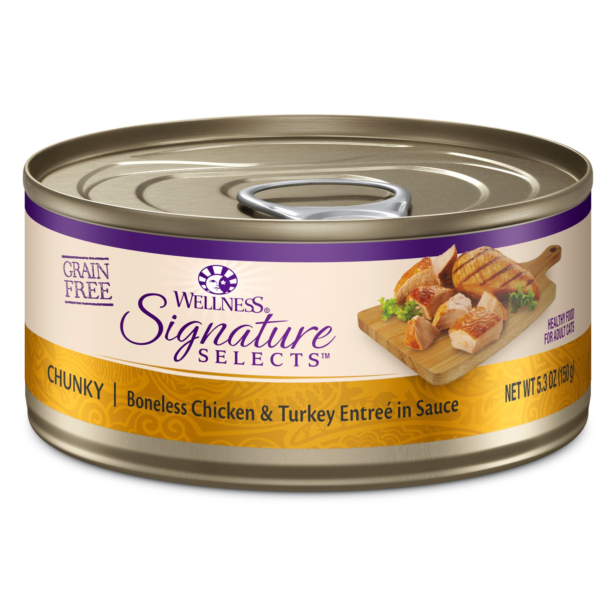 Wellness® Signature Selects Cat Food - Natural, Grain Free size: 5.3 Oz 5208582