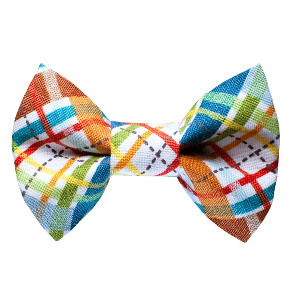 Sweet Pickles The Correspondent Cat Bow Tie Size 2.5l X 1.5w Multi Color